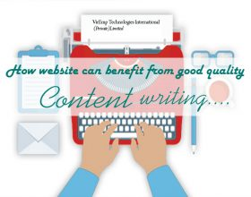 How websites can benefit from good quality content writing?