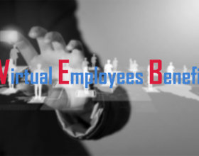 How virtual employees benefit a business in a number of ways?