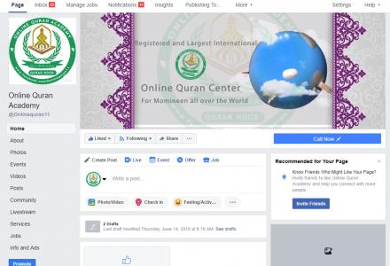 Quran Academy Facebook Page