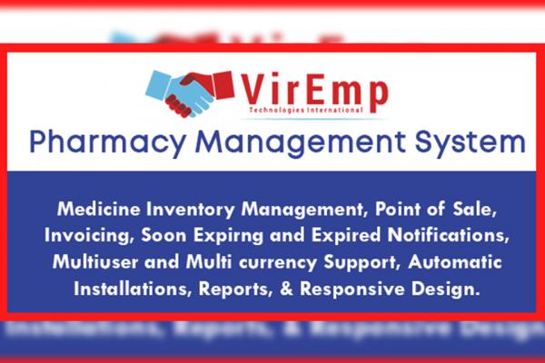 pharmacy management sytem